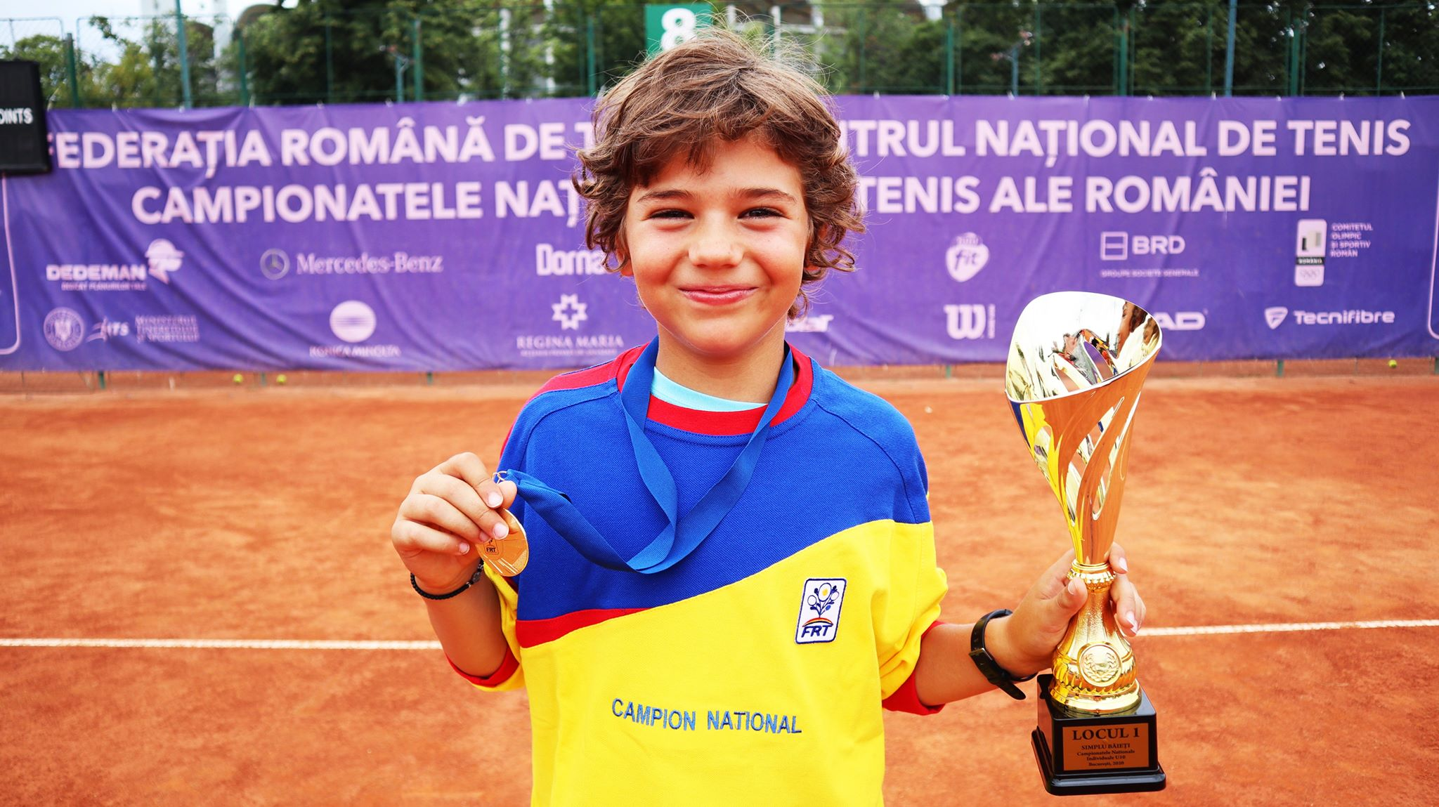 Andrei Radu campion national U10